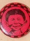 Image of Pinback Button Pre-MAD Alfred E. Neuman #2