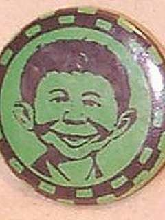 Go to Pinback Button Pre-MAD Alfred E. Neuman #3 • USA