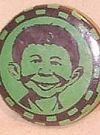 Image of Pinback Button Pre-MAD Alfred E. Neuman #3