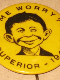 Go to Pinback Button Pre-MAD Alfred E. Neuman - Superior 1941 • USA