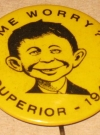 Image of Pinback Button Pre-MAD Alfred E. Neuman - Superior 1941