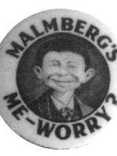 Go to Button Pre-MAD Malmberg's Me Worry • USA