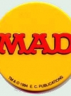 Thumbnail of Button MAD Logo on Yellow Background