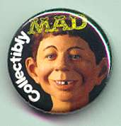 Button 'Collectibly MAD' Promotional • USA