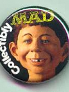 Go to Button 'Collectibly MAD' Promotional • USA