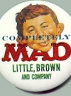 Image of Pinback Button Completely MAD