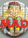 Image of Button Exchange Pinback #4 'MAD'