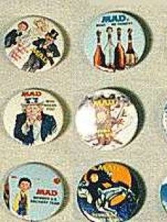 Go to Button Set MAD Bi-Rite • USA
