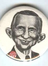 Image of Button Ross Perot 'Me Worry'