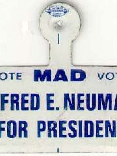 Go to Tab Pin 'Alfred E. Neuman for President' • USA