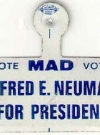 Image of Tab Pin 'Alfred E. Neuman for President'