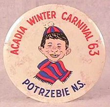 Button Acadia Winter Carnival 63 • USA