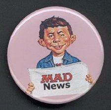Button Alfred E. Neuman News • USA