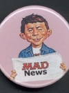 Button Alfred E. Neuman News