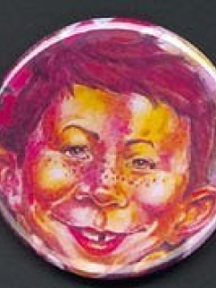 Go to Button Alfred E. Neuman Swirl Art