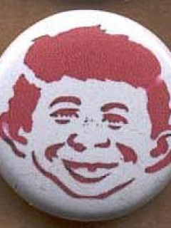 Go to Button Alfred E. Neuman Stencil • USA