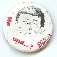 Button Alfred E. Neuman Face 'Na und...?' • Germany