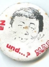 Button Alfred E. Neuman Face