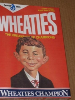 Go to Wheaties Box with Alfred E. Neuman Sealed