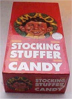 Christmas Candy MAD Magazine Single Package • USA