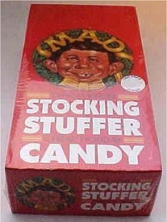 Christmas Candy MAD Magazine Single Package • USA