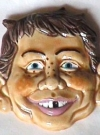 Image of Ceramic Magnet Alfred E. Neuman Head