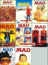 Image of Magnets - Set of 8 MAD Magazine Cover Knock-Offs