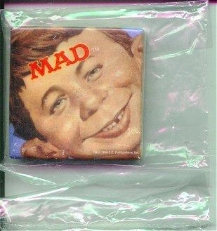 "Ceramic Magnet ""Alfred Face"" • USA"
