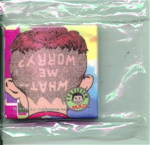"Ceramic Magnet ""Alfred Shaved Head"" • USA"