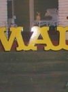 Image of Sign 3D Giant MAD Logo
