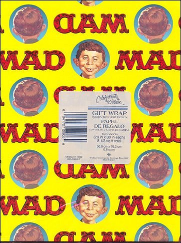 Wrapping Paper MAD Magazine • USA
