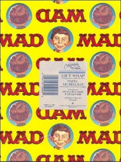 Go to Wrapping Paper MAD Magazine • USA
