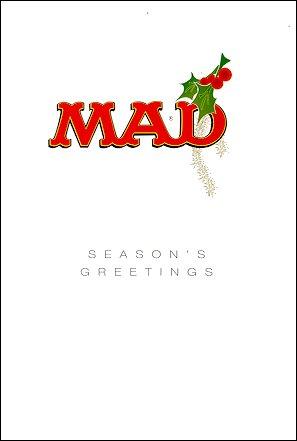 Christmas Card Australian MAD Christmas 1998 • Australia