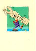 "Banana Peel Cards Don Martin ""Breaking Up"" • USA"