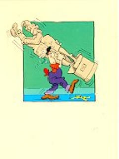 "Banana Peel Cards Don Martin ""Breaking Up"" • USA"
