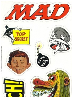 Go to Magnets - MAD Magazine Subscription Bonus • USA