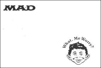 Memo Pad Paper MAD Magazine • Australia
