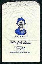 Bag 'Little Jack Horner' Joke Store Bag • USA
