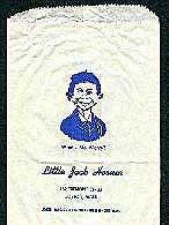 Go to Bag 'Little Jack Horner' Joke Store Bag • USA
