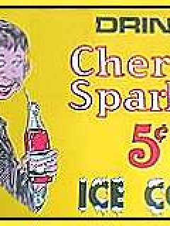 Go to Cherry Sparkle Tin Sign • USA