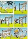 """Image of Greeting Card 'Birthday': """"Spy vs Spy Cartoon"""" by Antonio Prohias"""