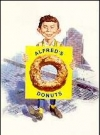 "Image of Greeting Card 'Miss You': ""Alfred with Donut"" by Norman Mingo"