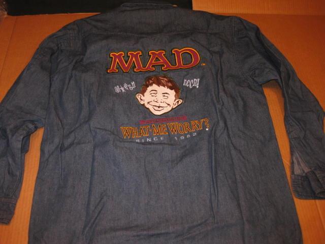 Denim Shirt MAD Wear International #2 • Australia