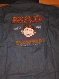 Go to Denim Shirt MAD Wear International #2 • Australia