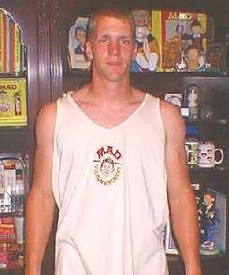 Tank Top T-Shirt MAD, white • Australia