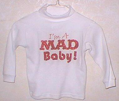 Sweat Shirt Children's 'MAD Baby' • USA