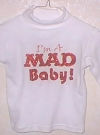 Image of Sweat Shirt Children's 'MAD Baby'