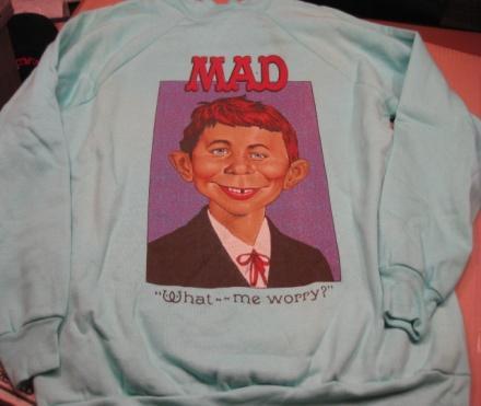 Sweat Shirt MAD Magazine / Alfred E. Neuman • USA