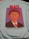 Image of Sweat Shirt MAD Magazine / Alfred E. Neuman