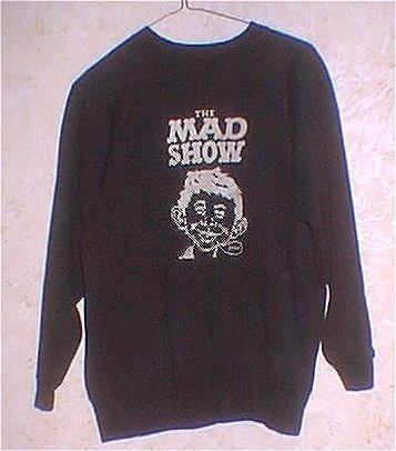 Sweat Shirt MAD Show Cast • USA